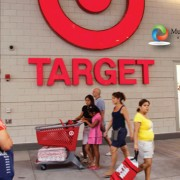 Hispanics Shopping at Target